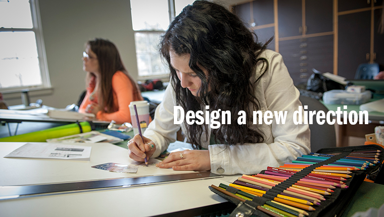 Design a new direction